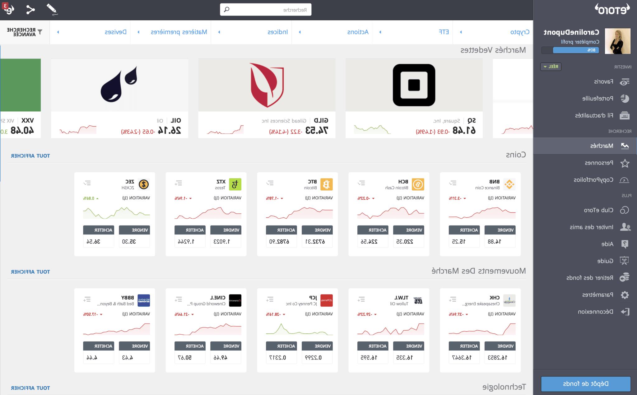 Comment acheter rapidement des actions?